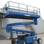Scissor Lift – 30ft (9.1m) – Diesel – Upright, Model: SL30SL -25