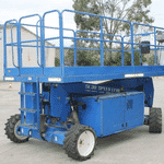 Scissor Lift – 30ft (9.1m) – Diesel – Upright, Model: SL30SL D-53
